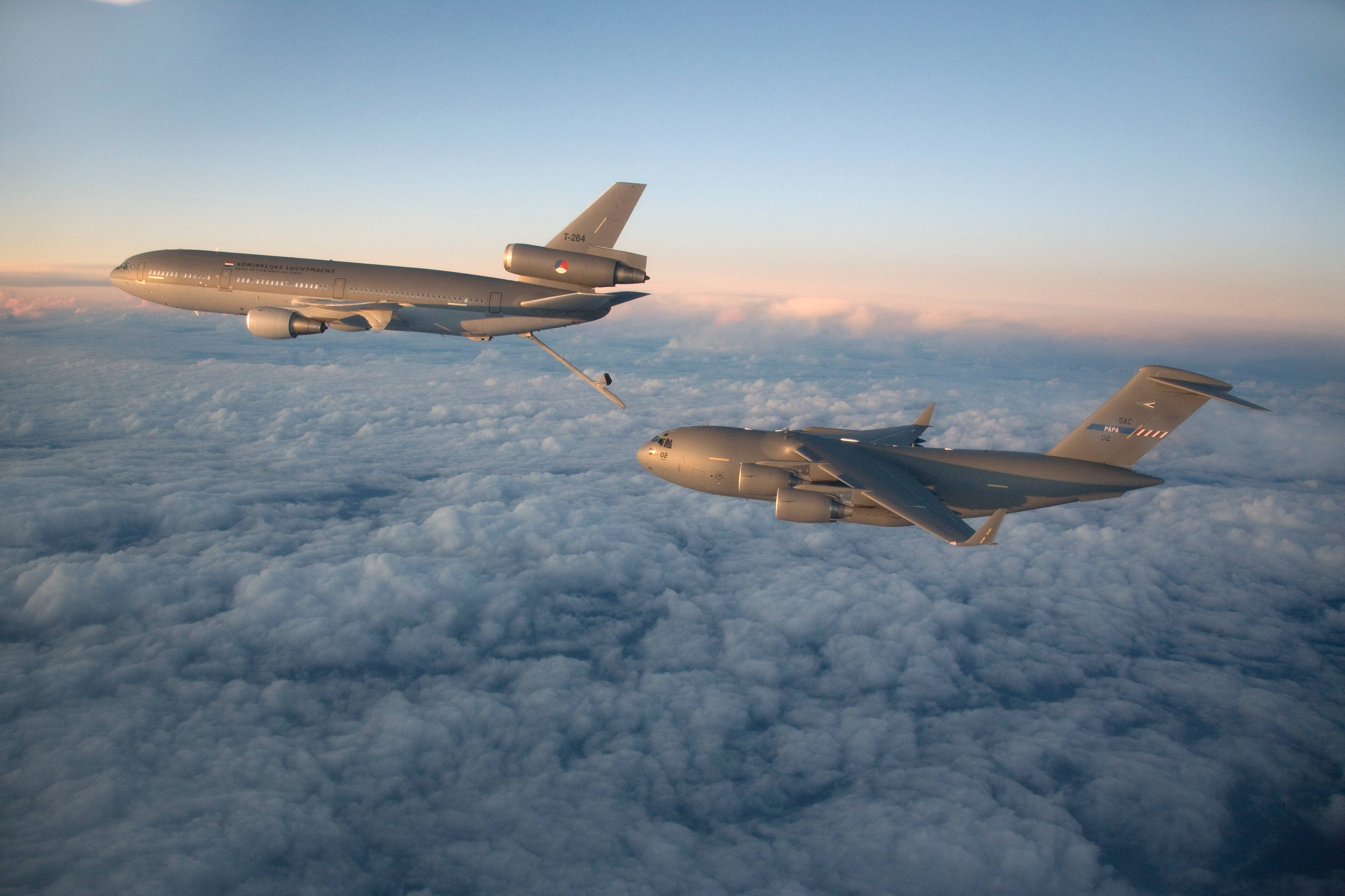 mcdonnell douglas kdc 10 transportvliegtuig materieel