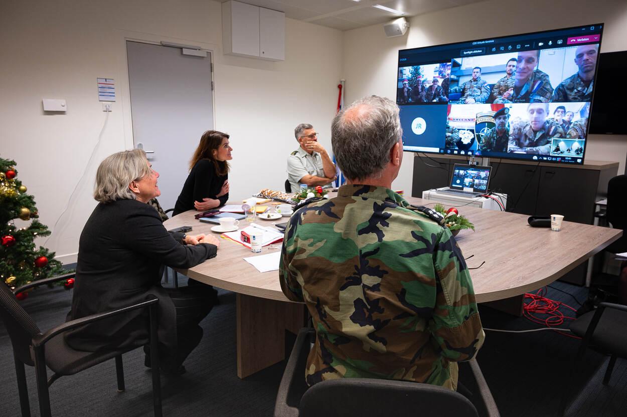Virtuele kersttour langs militairen in missiegebieden