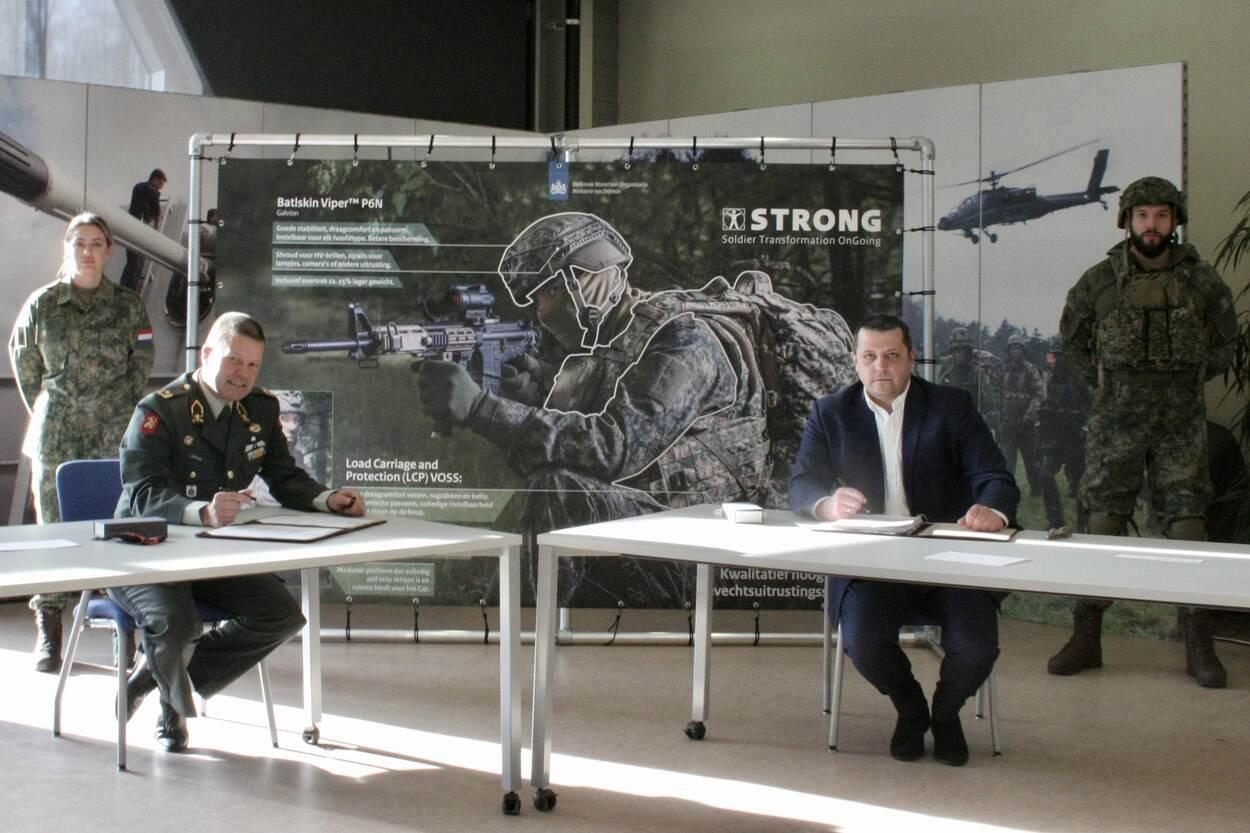 Productie Interim NFP-gevechtskleding van start