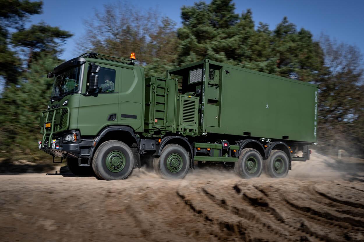 Structurele instroom Scania Gryphus van start