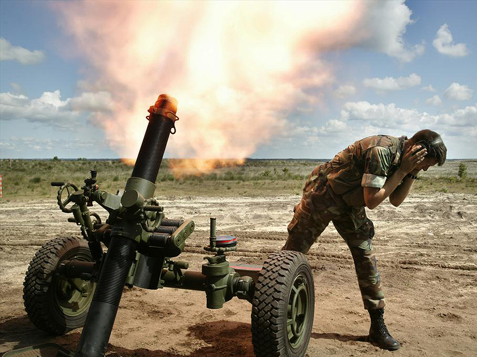 Mortieren (60-, 81- en 120mm) | Materieel | Defensie.nl