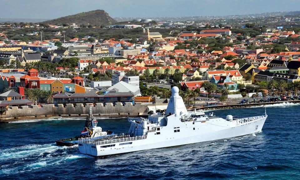 HNLMS Olanda a Curaçao.