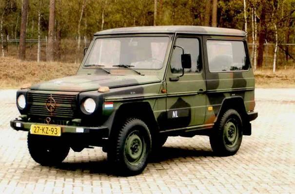 Mercedes-Benz 290GD | Materieel | Defensie nl