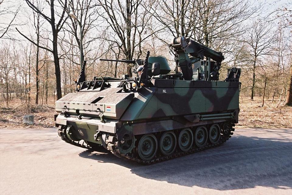 YPR-pantserrupsvoertuig | Materieel | Defensie.nl