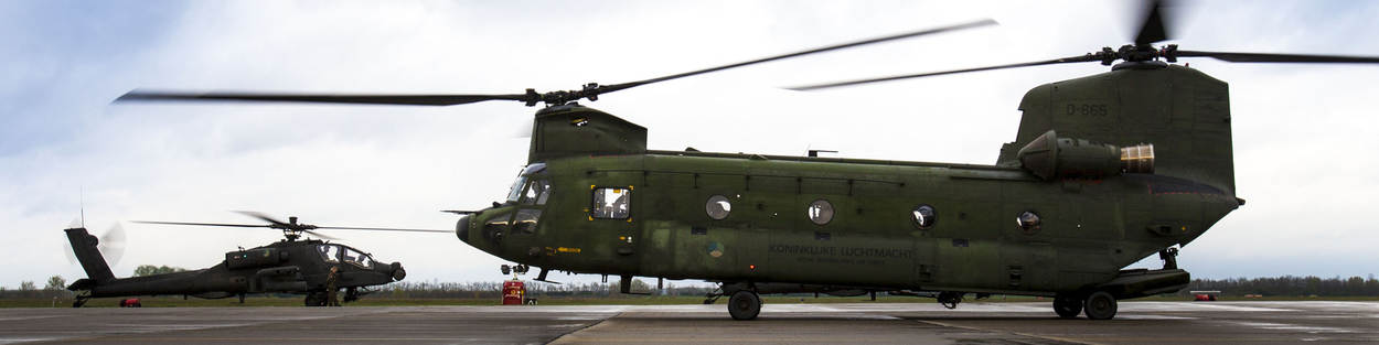 Chinook-transporthelikopter.