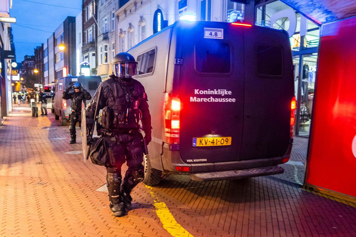 Marechaussee levert bijstand aan politie voor handhaving openbare orde