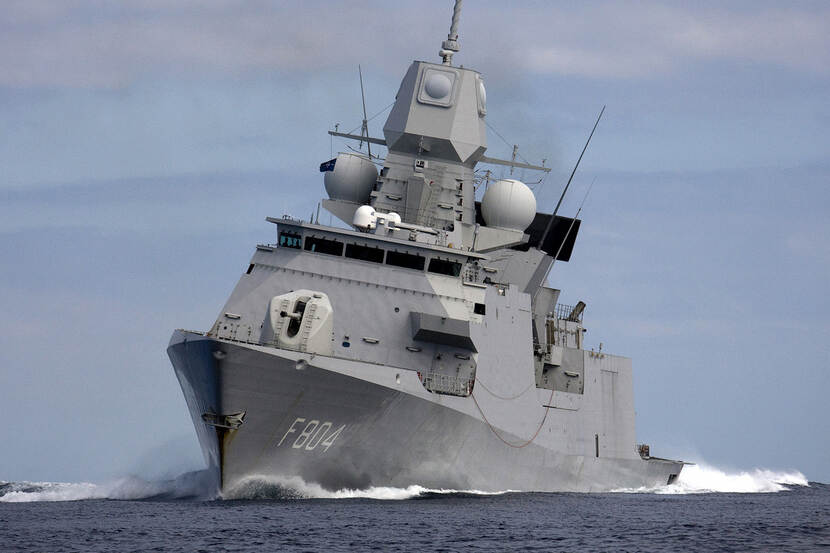 Zr.Ms. De Ruyter.