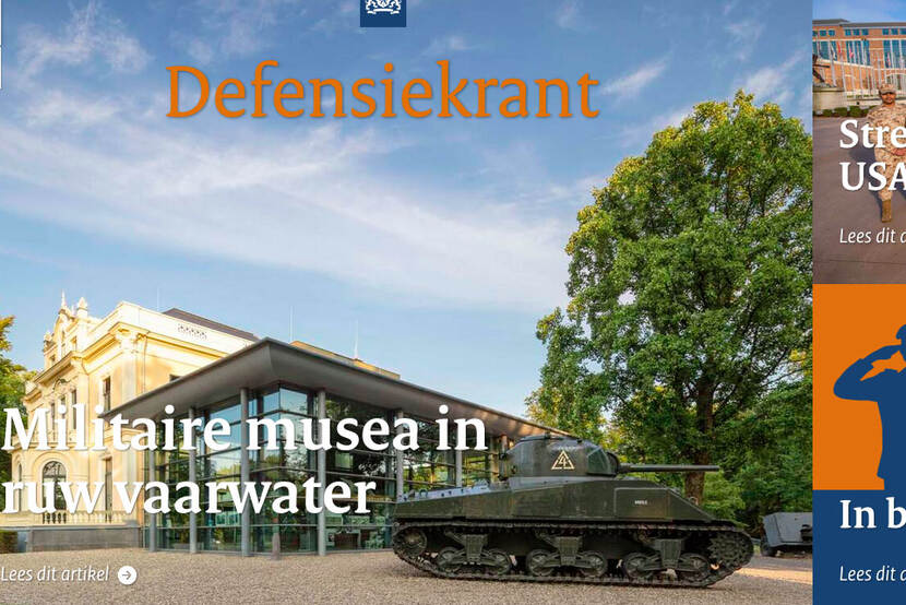 Cover Defensiekrant 18.
