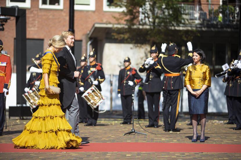 Prinsjesdag: Nadruk voor Defensie op digitalisering en duurzaamheid (video's)