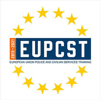 Afbeelding van logo European Union Police and Civilian Services Training.