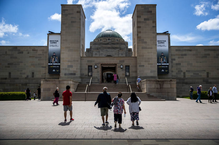 Australian War Memorial in Canberra.