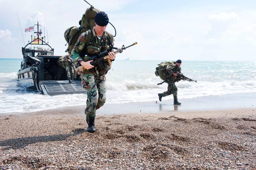 Militaire oefening rondom Vooroever begin december