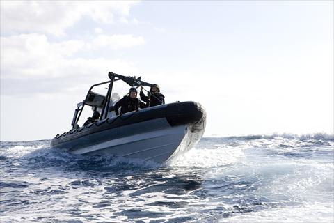 Rigid Hull Inflatable Boat 2000D (RHIB).