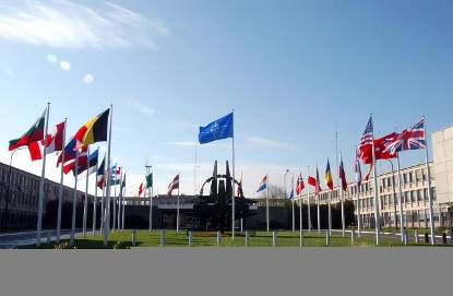 Headquarters of NATO in Brussels