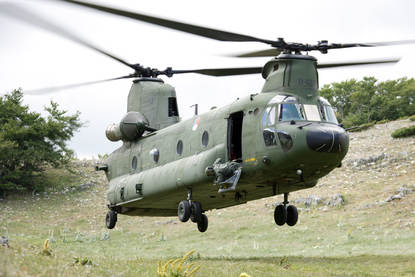 Chinook-transporthelikopter