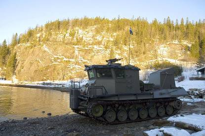 De BARV, Beach Armoured Recovery Vehicle in Noorwegen